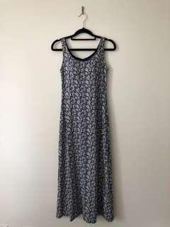 Uniqlo floral print summer dress