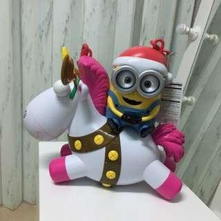 環球影城帶回2018聖誕限定版小小兵爆米花桶