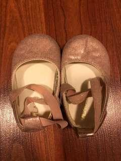 Pink Ballet Shoes 6-12mos
