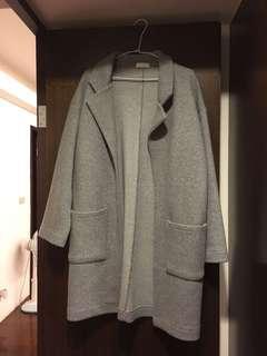 正韓灰色大衣amissa