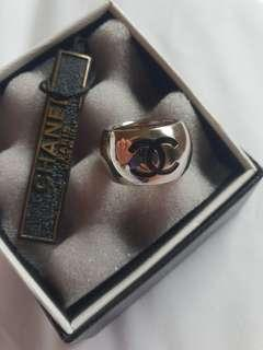 Authentic Chanel ring