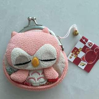 BNWT Purchased in Japan Exquisite Owl Handmade Collectible Purse