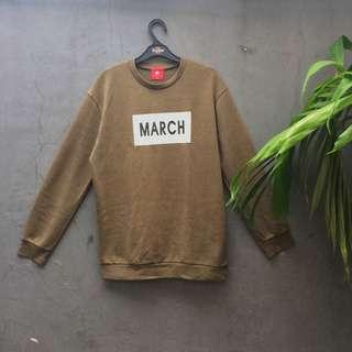 March army sweater