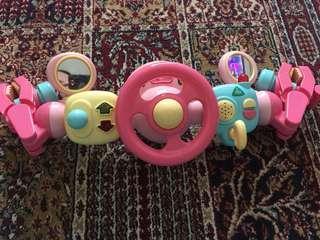 ELC driver steering wheel toys