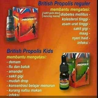 British Propolis Reguler dan Kids
