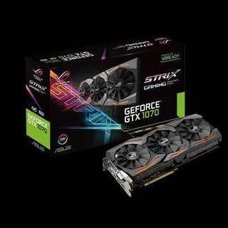 ASUS STRIX GTX 1070 8GB GAMING