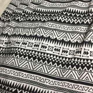 Tribal skirt local brand