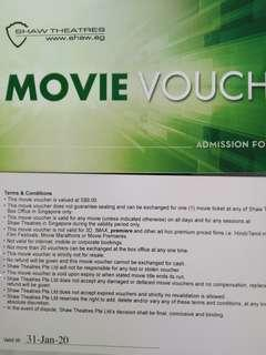 Shaw Movie Voucher
