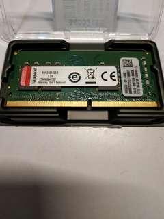 🚚 金士頓 筆記型電腦記億體 8G ddr4-2400