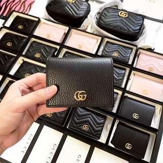 現貨Gucci wallet black