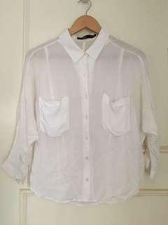 Sportsgirl white shirt
