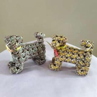 $7EA- Dog Handmade using cardboard (semi-waterproof)