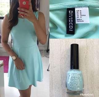 BNWT H&M Peplum Dress
