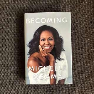 Hardbound Becoming by Michelle Obama