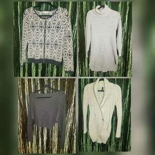 Four Size Small sweaters to choose from. All in great condition