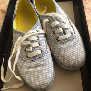 Baby Blue Polka Dots Keds AUTHENTIC