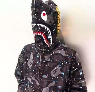 BAPE SHARK SPACE CAMO HOODIE · BAPE SHARK SPACE CAMO HOODIE. RM299. BAPE  SHARK SPACE CAMO FULL ZIP ... b7ee1aab5