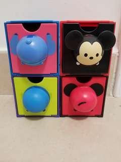 7-11 Disney Tsum Tsum boxes including Mickey Mouse set