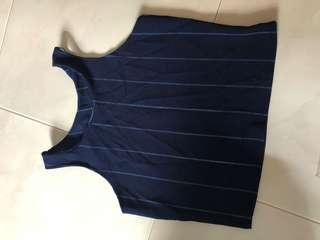 (BN) Navy Blue TOP