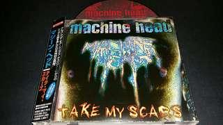 Machine Head (take my scars) cd metal Japan press with obi