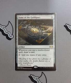 Magic The Gathering - Tome of the Guildpact Card
