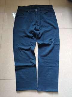 全新 A BATHING APE 藍色運動長褲