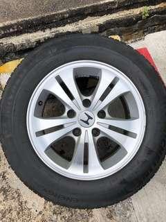 """4 X Honda 16"""" Rims"""