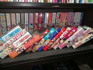 Yuri magazines (Japanese language)