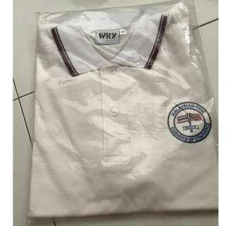WHITE POLO T-SHIRT (BRAND NEW)
