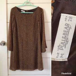 Pull&Bear Sheer Dress