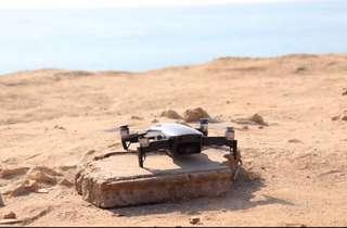 Dji mavic air drone (black) + extra battery