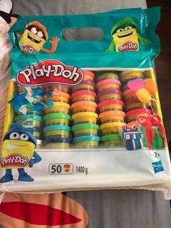 BNIP Hasbro play doh party packs (50 pieces)