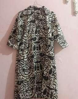 Dress tunic batik