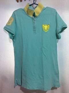 2Pcs Giordano Polo Shirt (L)