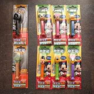 PEZ Mickey Mouse Clubhouse & Star Wars