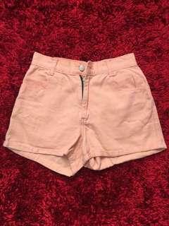 SALE! Short jeans peach