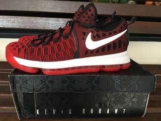 Nike Kevin Durant KD 9 Bred -Free Ongkir Or Nego-