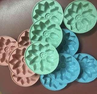 12pcs Jelly agar agar mould