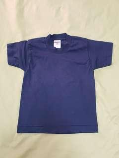 Fruit of the Loom Boys Dark Blue T-Shirt, Size: 6, Kid's Clothes
