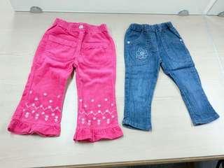 🚚 女童長褲2件