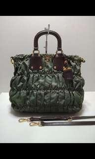 Authentic Prada two way bags