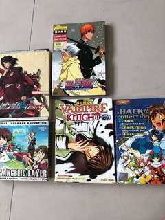 Anime dvd movies shows