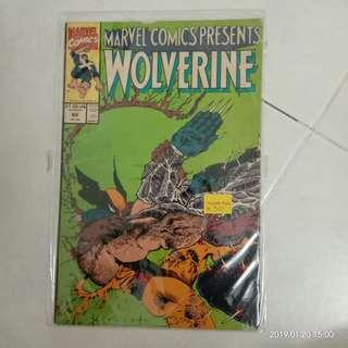 Marvel Comics Presents Wolverine #86 #CNY888