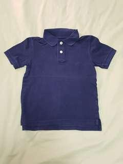 Cherokee Boys Dark Blue Polo T, Size: S (6-7), Kid's Clothes