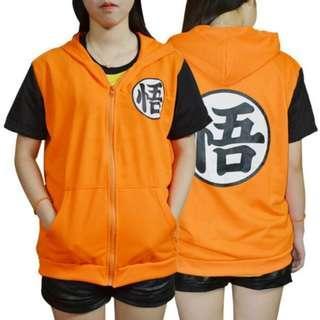 🚚 🉐 Dragon Ball Z Son Goku Jacket Hoodie (In-stock) 七龙珠