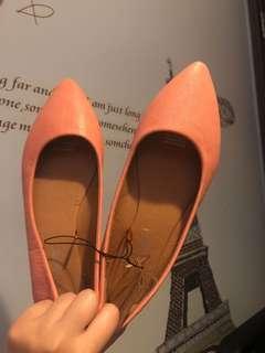 Cotton on 粉紅色平底鞋 40碼