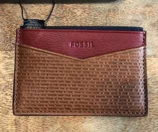 Fossil - Leather Card Holder