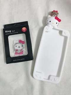 店💕清貨 全新 Hello Kitty iPhone6 /6Plus / 7Plus Case