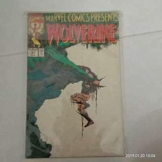 Marvel Comics Presents Wolverine #87 #CNY888
