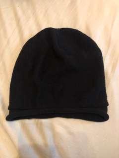🚚 日本買的黑色針織帽50-60公分